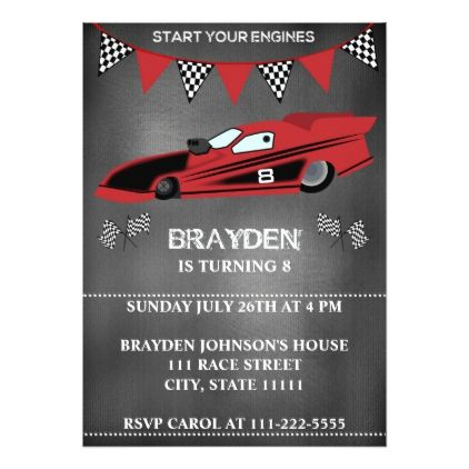 The 25+ best Cars birthday invitations ideas on Pinterest Race - birthday invitation model