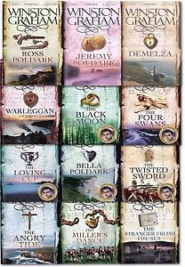 Winston Graham Poldark Series 12 Books Collection Set A Novel of Cornwall PB US | eBay