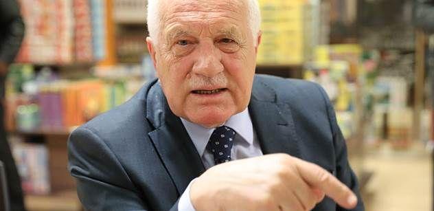 """Václav Klaus pro PL: Vyzývám k totální revoluci a svrhnutí evropské vládnoucí oligarchie. Větší ohrožení dnes přichází ze """"Západu"""" než z Východu. A Wilders, Le Penová a zbraně…"""