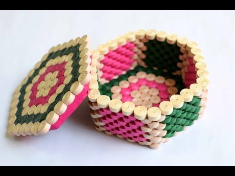 How to make Quilling Gift Box in 6 minutes !! - YouTube