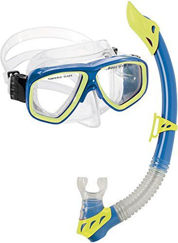 The Cressi Rock Kid Combo is a great new kids snorkel set. This mask and snorkel set will let your little snorkelers feel comfortable and confident as the explore the reef on your next warm, tropical vacation.The mask skirt is comprised of hypoallergenic soft liquid silicone to keep your kiddos...