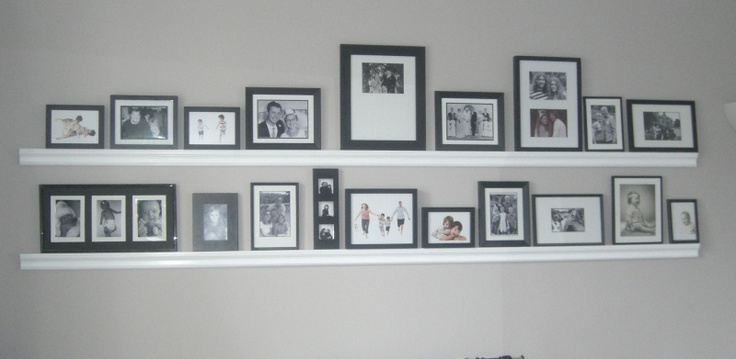 Family photo wall @collectablepride.com