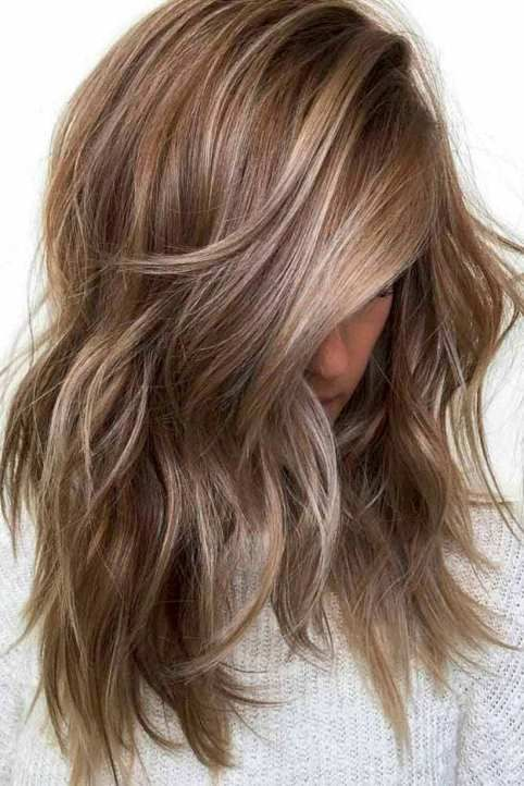 48 coole Haarfarbideen zum Ausprobieren 2018 | Haarfarben 2019 mittel …