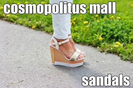 Dámské sandály na vysokém klínu. Lévne dámské sandály na podpatku, na klínku, letní. Lévne dámské sandály. Široká nabídka dámských žabek a sandálů: letní , na barevném klínku, jarní. Dámske sandále: http://www.cosmopolitus.com/damske-boty-damske-sandaly-c-101_108.html #Dámské #sandály #vysokém #klínu #levné #boty #podpatku