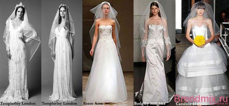 Свадебное платье без фаты