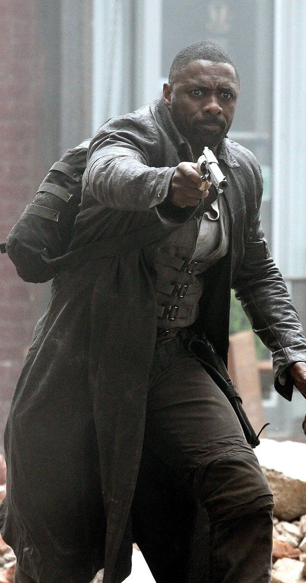 """The Dark Tower - Stephen King - Directed by Nikolaj Arcel.  With Katheryn Winnick, Matthew McConaughey, Idris Elba, Abbey Lee. The Gunslinger, Roland Deschain, roams an Old West-like landscape where """"the world has moved on"""" in pursuit of the man in black. Also searching for the fabled Dark Tower, in the hopes that reaching it will preserve his dying world."""