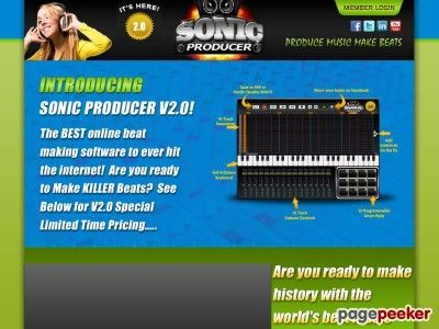 awesome #Now its easy to make rap beats online with our new beat maker – Sonic Producer