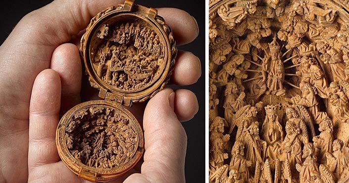 Dokonalé miniatúry z dreva zo 16. storočia očarujú celý svet! Vedci a historici si stále nie sú istí tým, ako vlastne vznikli. Nádherné rezbárske miniatúry