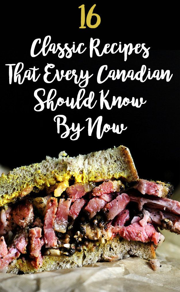 16 Irresistible Recipes That Will Satisfy Any Canadian