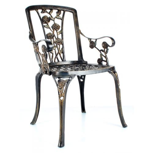 Gül Kollu döküm sandalye