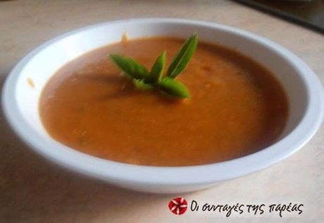 """Κόκκινες φακές σε σούπα, μία """"άγνωστη"""" νοστιμιά!!!"""