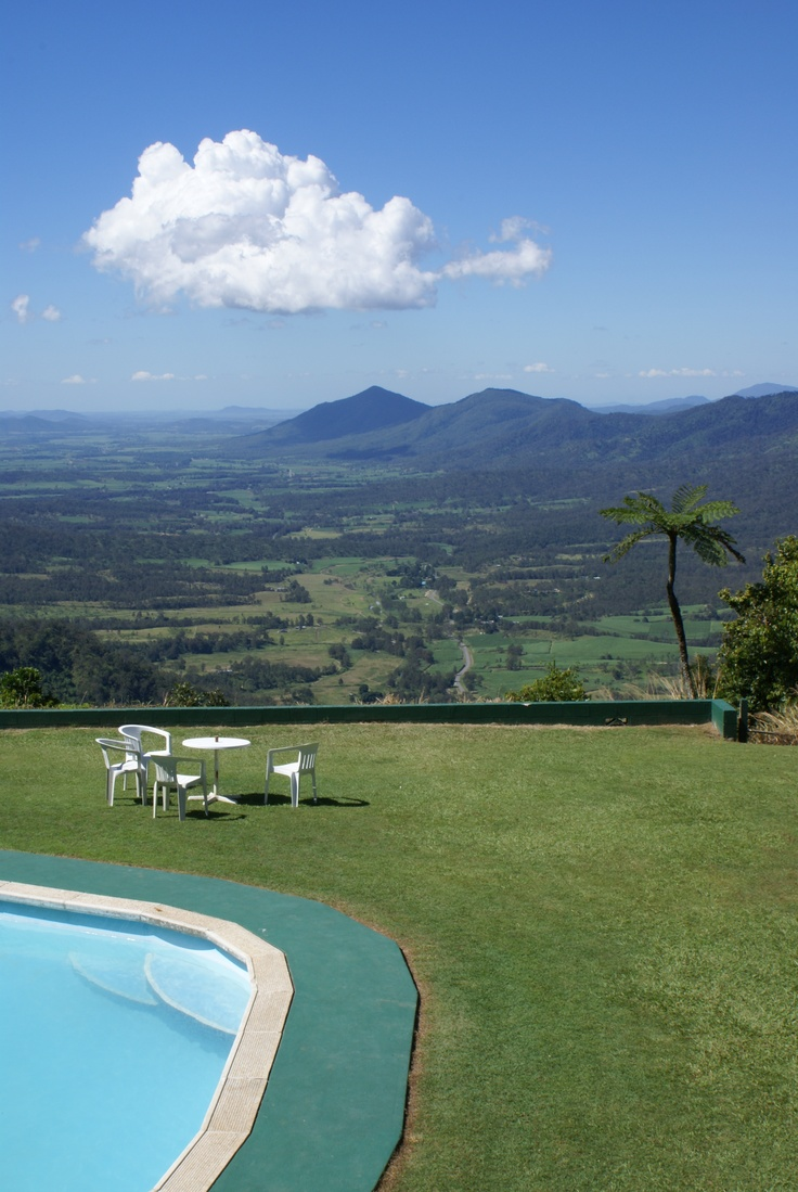 Pool with a view, Eungella NP, Australia.