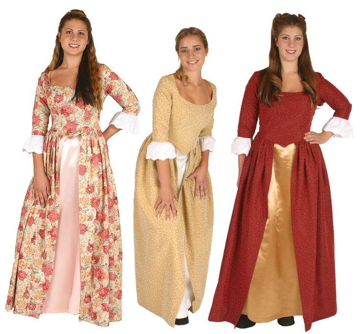 Martha Washington Clothing Styles | American Revolution Clothing -via ccroberson