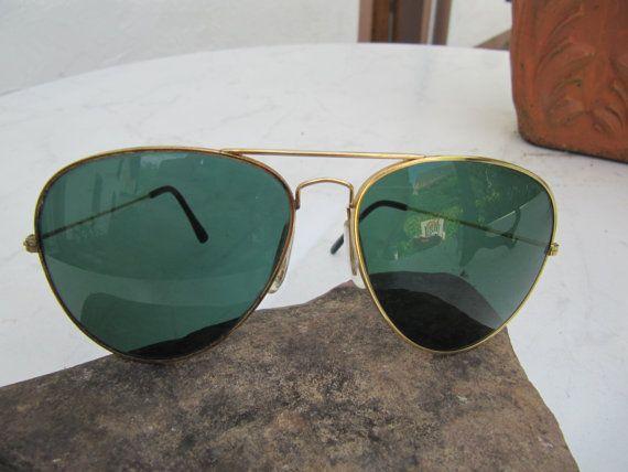 Pilotensonnenbrille von Vintage4Friends auf Etsy