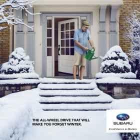 Quebec Subaru Dealers' Association: Forget winter, 3
