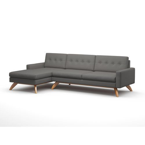"Found it at AllModern - Luna 113"" Sofa with Chaise"