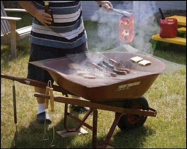 Redneck barbecue pit barbeque pits pinterest for Deep pit bbq construction