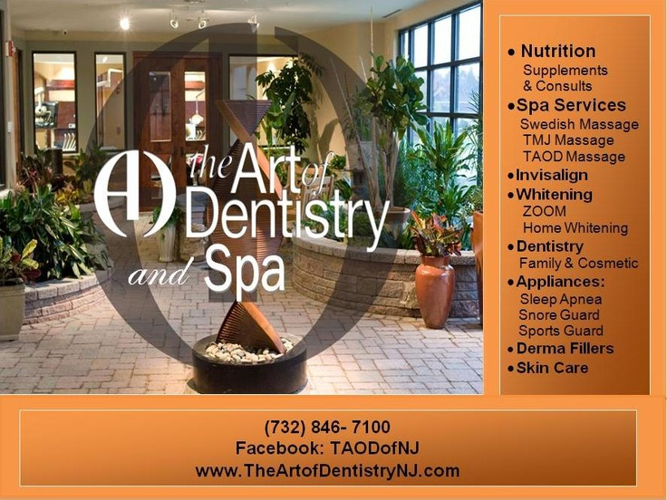 The Art Of Dentistry Amp Spa Visit Our Beautiful Amp Serene