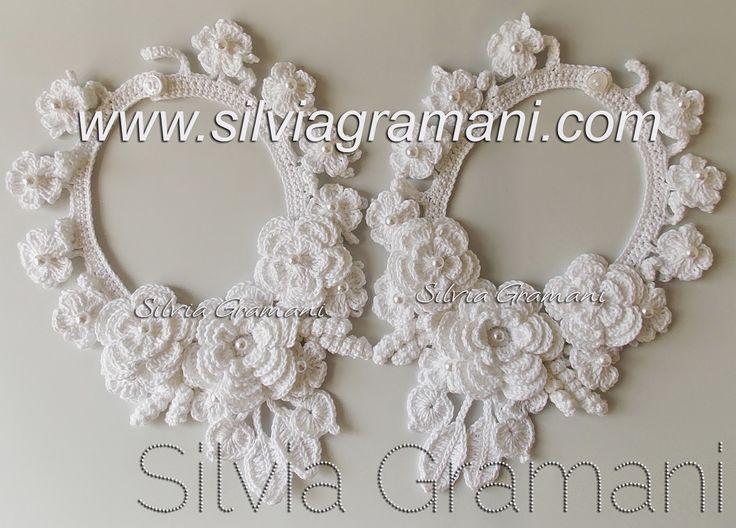 Silvia Gramani Crochê: Colar Miss Flor