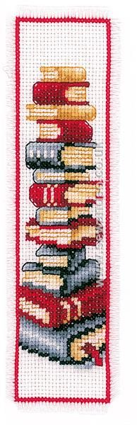 Buy Book Lover Bookmark Cross Stitch Kit Online at www.sewandso.co.uk