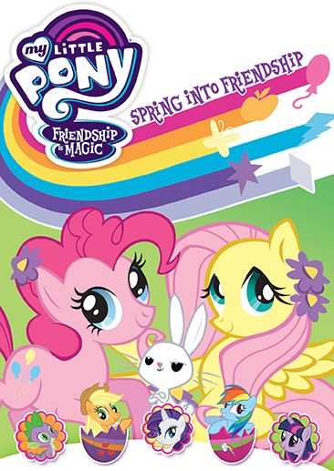 Inspired by Savannah: My Little Pony: Spring Into Friendship Comes to DVD February 13 - Includes Special Egg-Decorating Stickers, Too! -- Review and #Giveaway