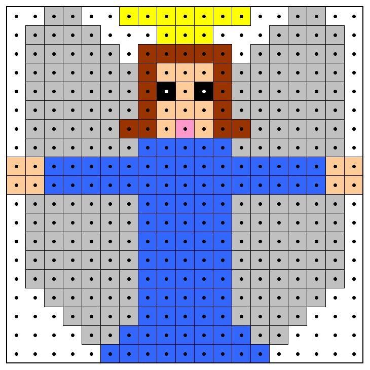KleuterDigitaal - wb kralenplank engel 01