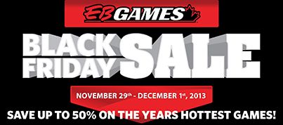 EB Games Save up to 50% on the years hottest games!