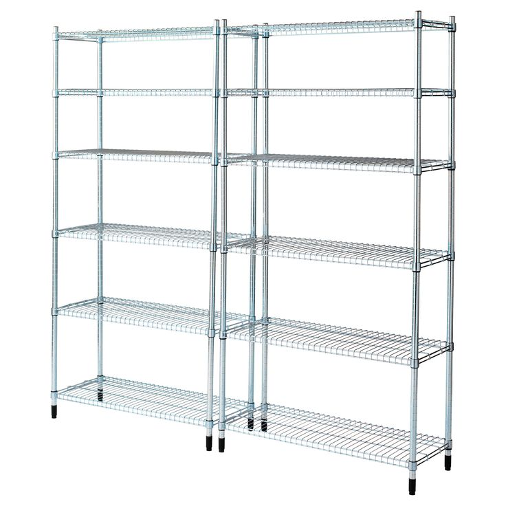 OMAR 2 Shelf Sections   IKEA Basement Storage