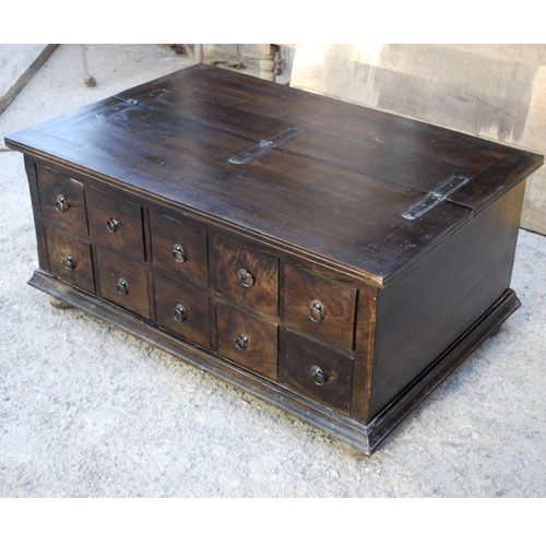 Classic Wood Storage Coffee Table with 10 Drawers - 67 Best Images About Apothecary On Pinterest Sofa End Tables