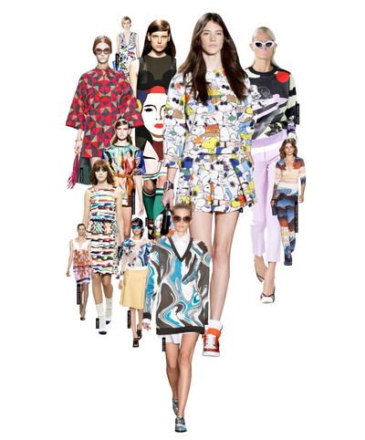 Pop Art from runway