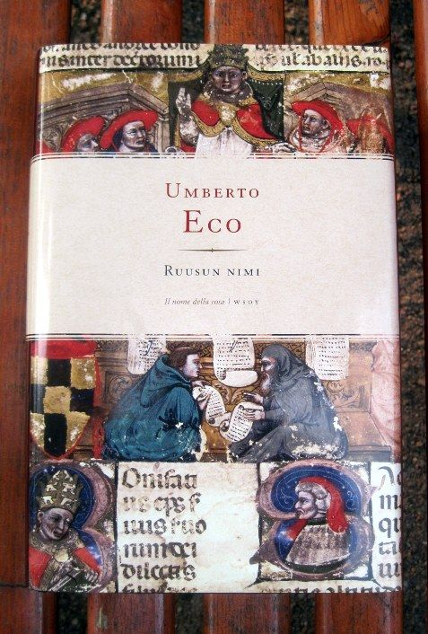 Sallan lukupäiväkirja: Umberto Eco: Ruusun nimi
