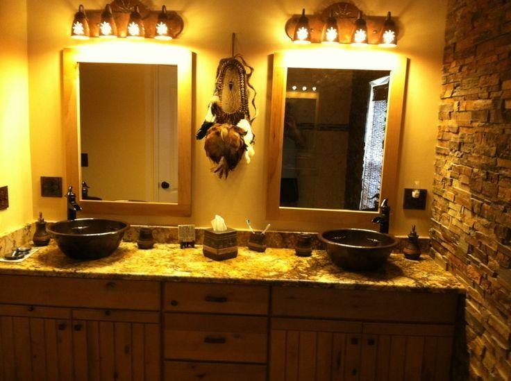 Southwest Bathrooms Southwest Bathroom Sink Vanity Bathroom Ideas Pinterest Southwest Bathroom Bathroom Sink Vanity Bathroom