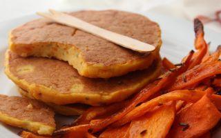 Frittelle di zucca con  carote al cumino