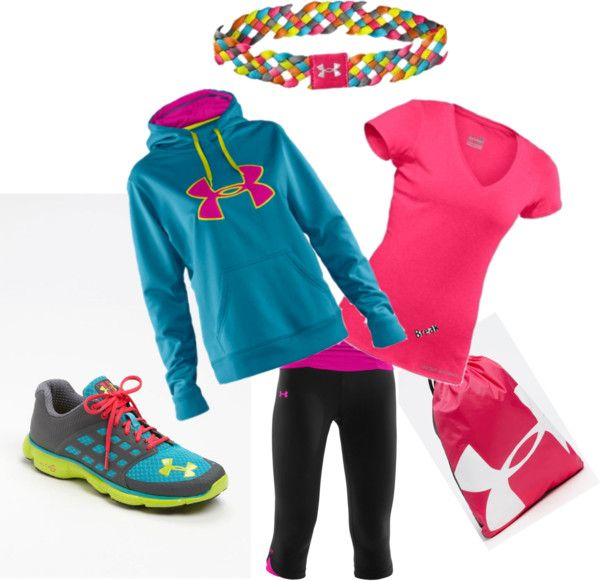 I got the headband, dry fit shirt and yoga pants, but I really want the storm hoodie and the shoes!