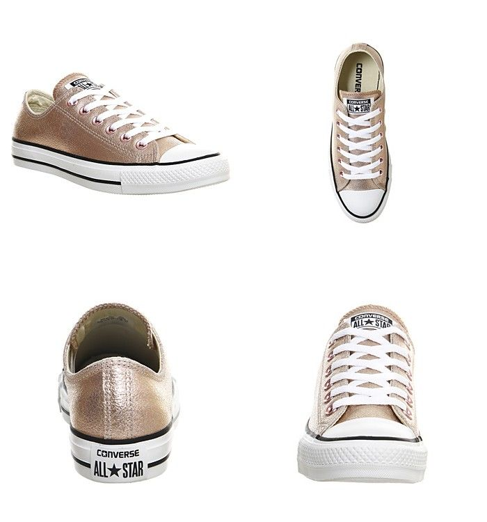 Converse - All Star Low Leather Rose Gold Exclusive