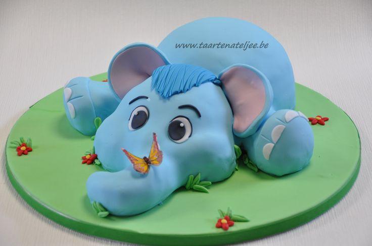 olifant taart en rice crispy