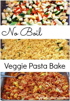 Pasta bake recipe with uncooked noodles