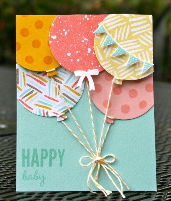 Картинки по запросу открытка с днем рождения своими руками