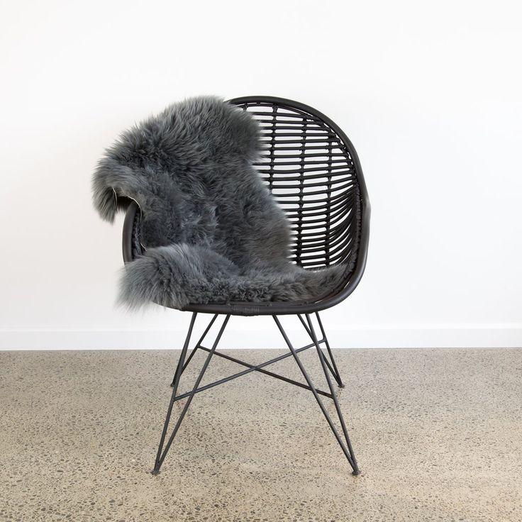 Rattan Occasional Chair (Black)