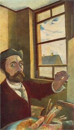 Self-Portrait - Tivadar Kosztka Csontvary