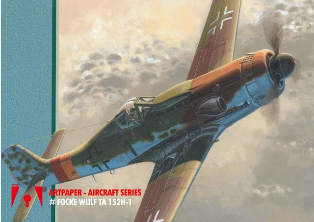 Workshop Artpaper: Focke Wulf Ta 152H-1