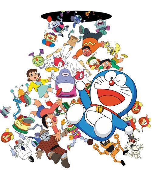 Doraemon.  La prueba científica de que los agujeros negros existen. ;)