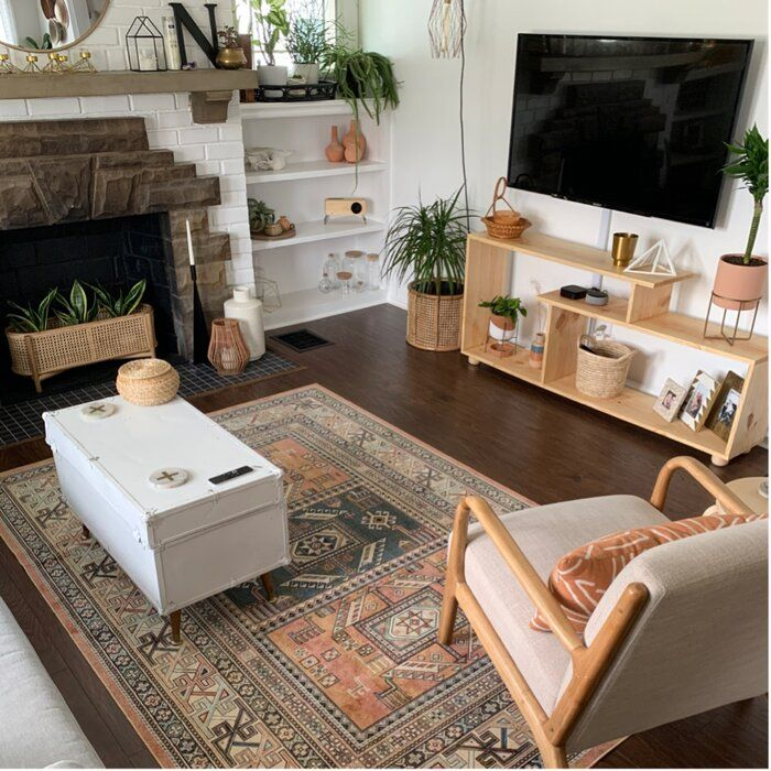 Mistana Ovid Tangerine Area Rug Reviews Wayfair Rugs In Living Room Living Room Designs Apartment Decor