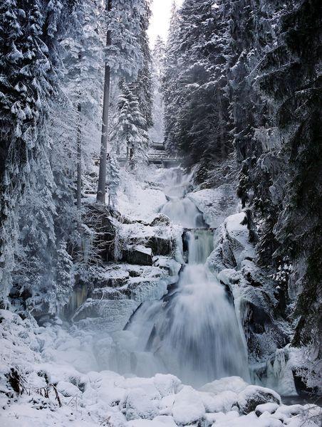 Les plus hautes cascades d'Allemagne - Triberg | Foret Noire - Schwarzwald…