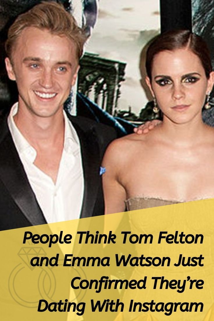 People Think Tom Felton and Emma Watson Just Confirmed