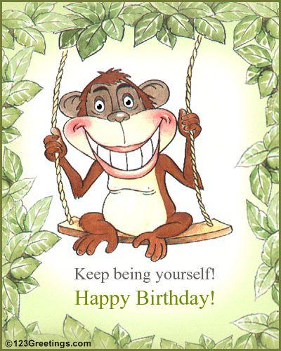 FUNNY BIRTHDAY MESSAGES | 123Greetings » Birthday » Smile » Fun Birthday Card!