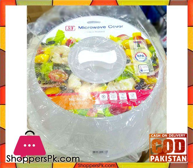 On Sale: Microwave Plate Cover Thailand Price Rs. 330 https://www.shopperspk.com/product/microwave-plate-cover-thailand/