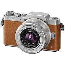 Panasonic Lumix DMC-GF7 Kompakt Systemkamera (brun)
