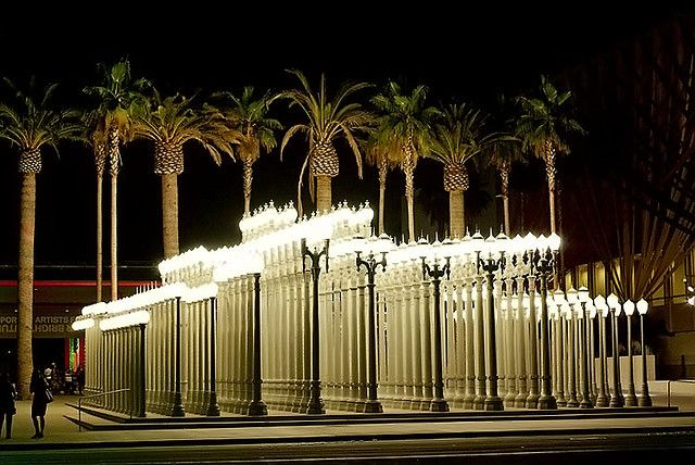 Urban light lacma http michaelroud com