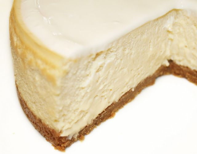 La Cuisine de Bernard: Le Cheesecake. I just made it and it's the best cheesecake I ever ate !!!!